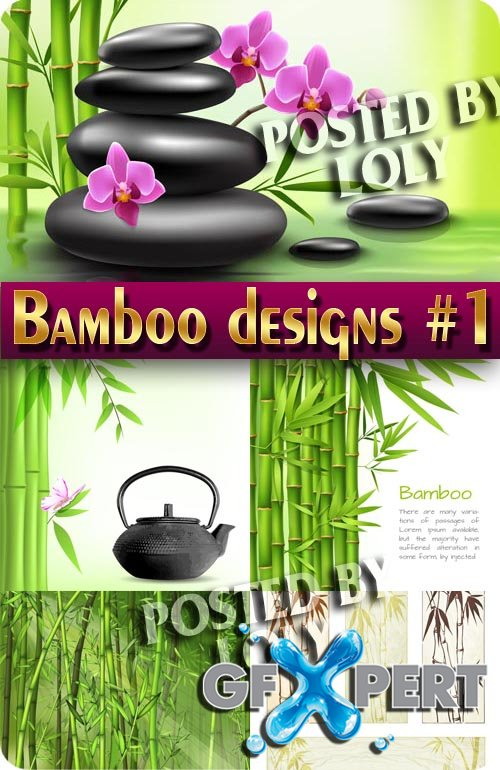 Bamboo #1 - Stock Vector