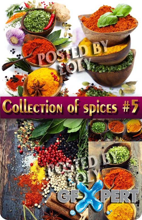 Food. Mega Collection. Spices #5 - Stock Photo