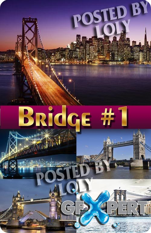Famous Bridges #1 - Stock Photo