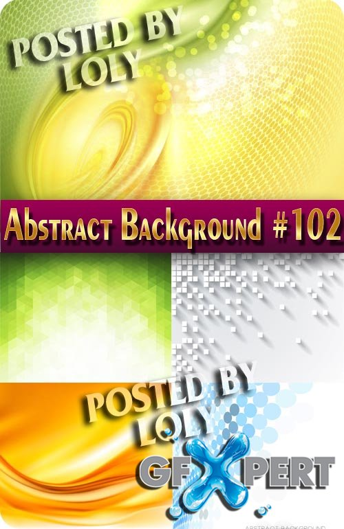 Vector Abstract Backgrounds #102 - Stock Vector