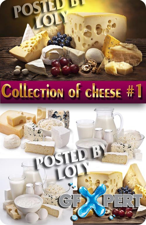 Food. Mega Collection. Cheese #1 - Stock Photo