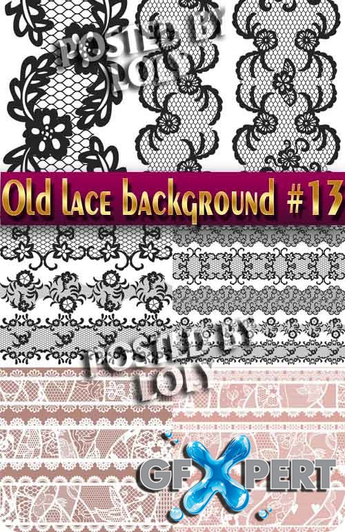 Vintage lace background #13 - Stock Vector