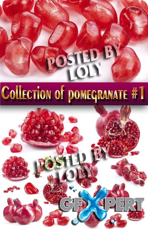 Food. Mega Collection. Pomegranate #1 - Stock Photo