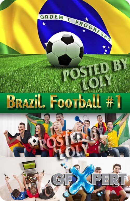Brazil. Football #1 - Stock Photo