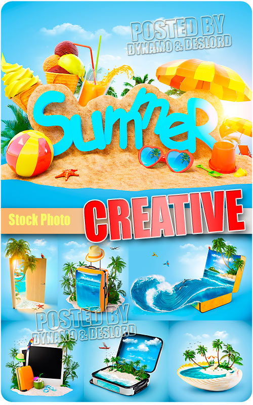 Summer Creative - UHQ Stock Photo