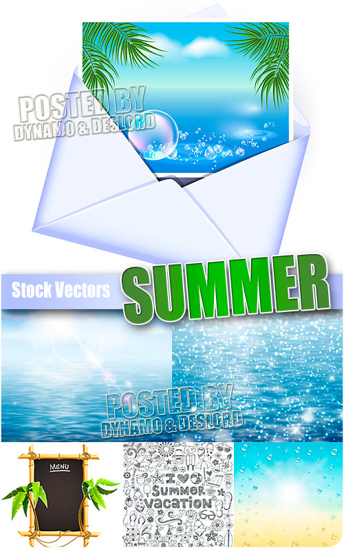 Summer - Stock Vectors