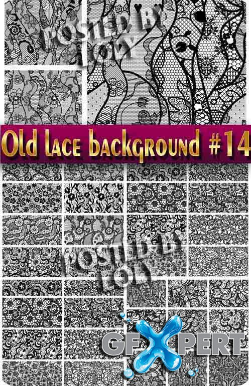 Vintage lace background #14 - Stock Vector