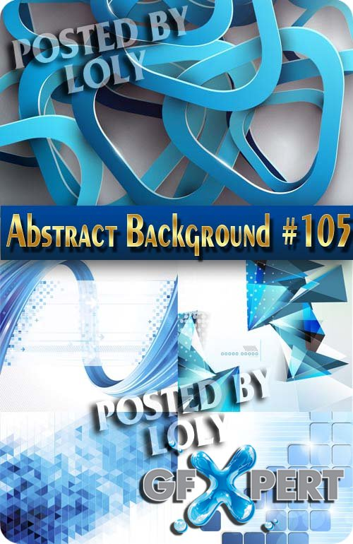 Vector Abstract Backgrounds #105 - Stock Vector