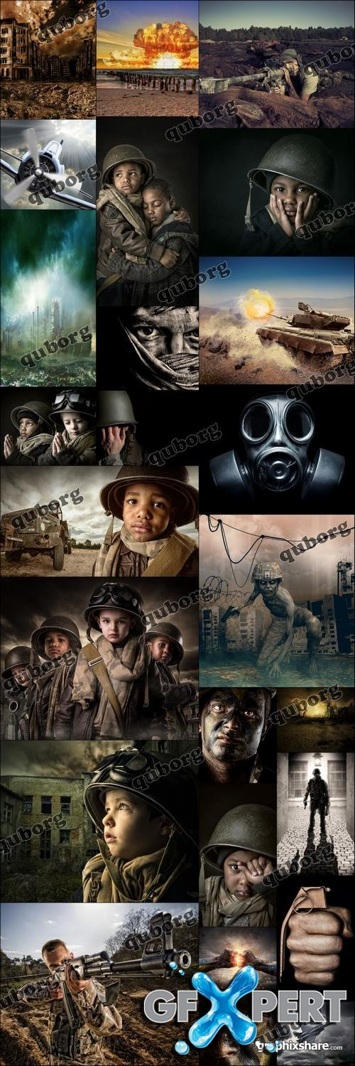 Stock Photos - Visions of War