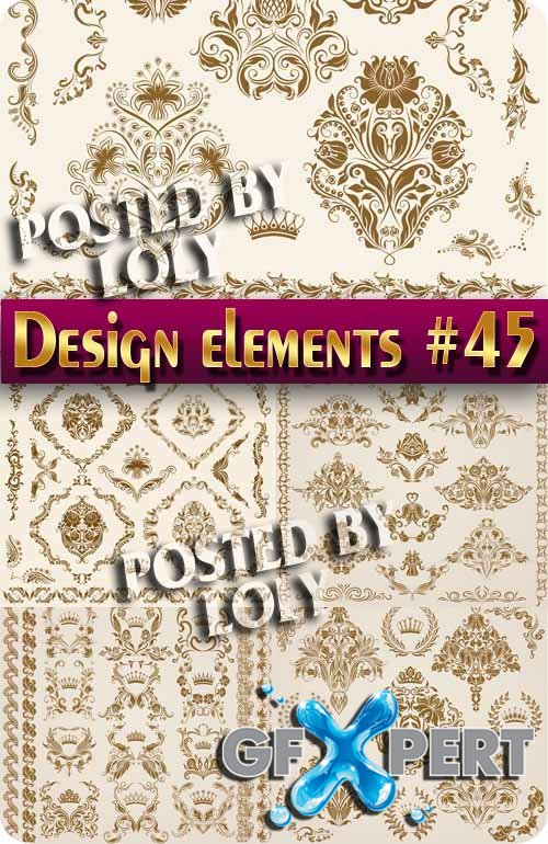 Design elements #45 - Stock Vector