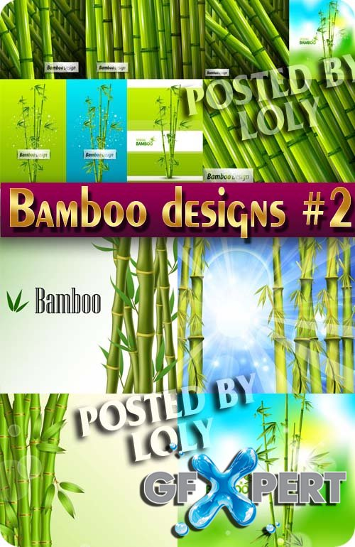 Bamboo #2 - Stock Vector