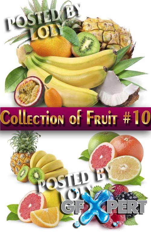 Food. Mega Collection. Fruit #10 - Stock Photo