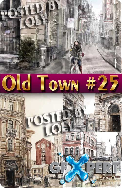 Old Town #25 - Stock Vector