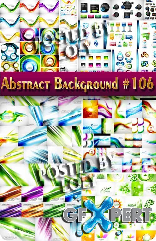 Vector Abstract Backgrounds #106 - Stock Vector