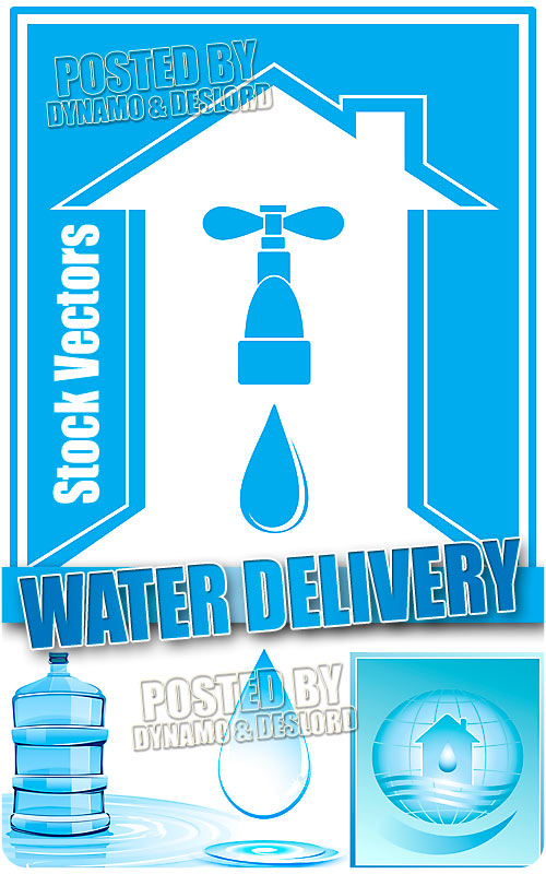 Water delivery - Stock Vectors