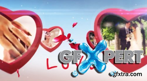Videohive Heart Frame Gallery 5679753