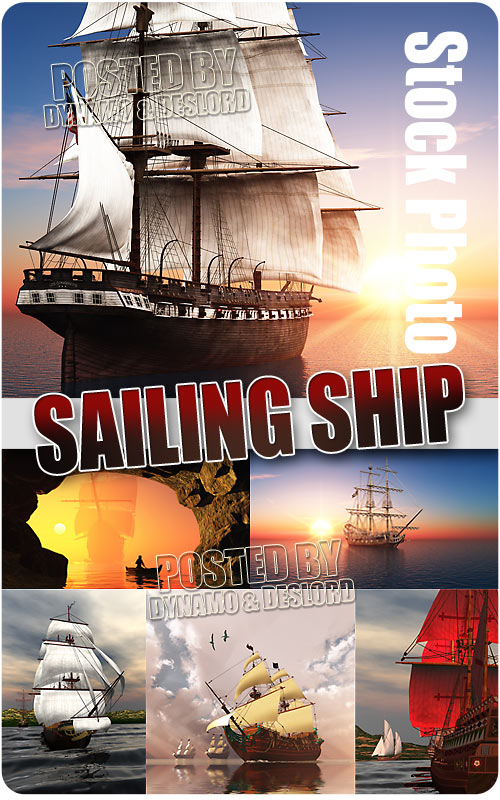 Sailing ship - UHQ Stock Photo