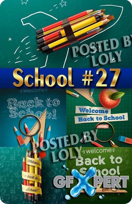 Back to School #27- Stock Vector