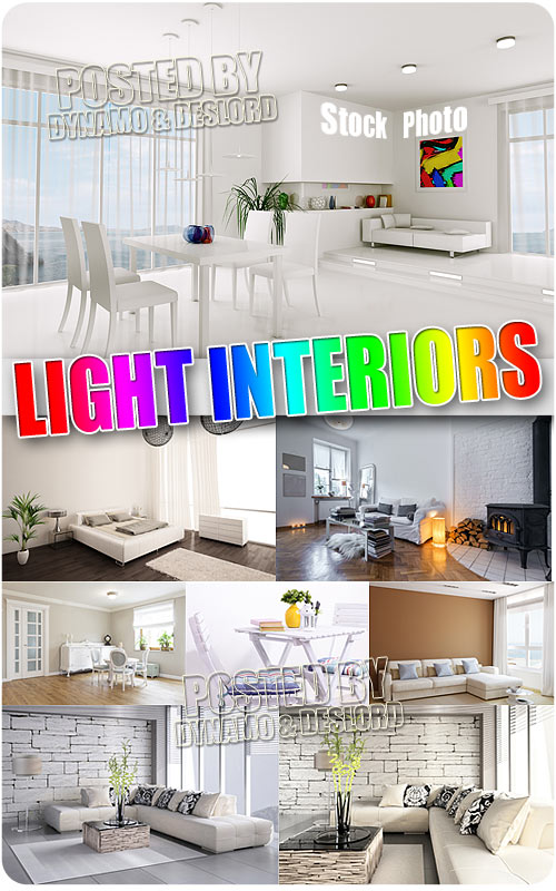 Light interiors - UHQ Stock Photo