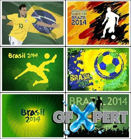 World Cup FIFA 2014 Vector