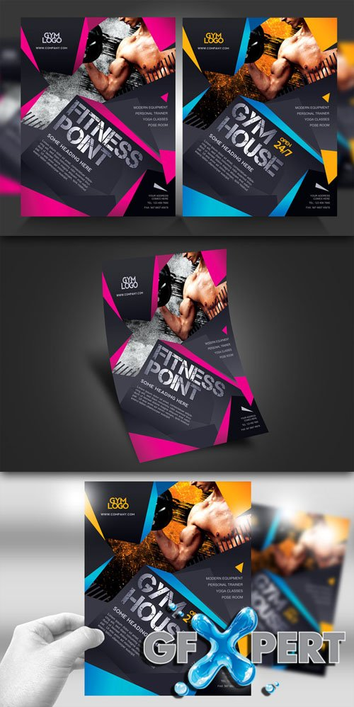 Creativemarket - Fitness / Gym Flyer V1