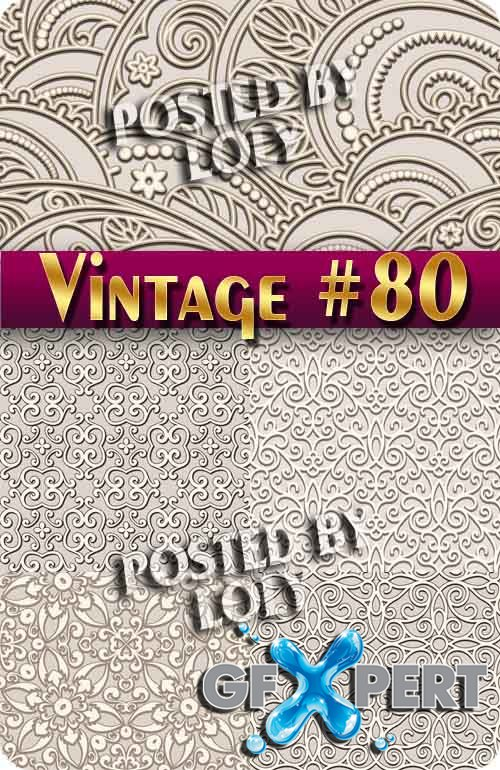 Vintage backgrounds #80 - Stock Vector