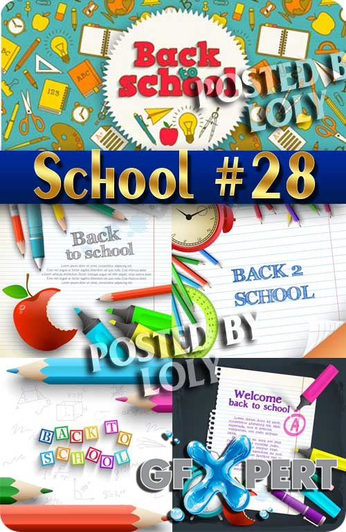 Back to School #28- Stock Vector