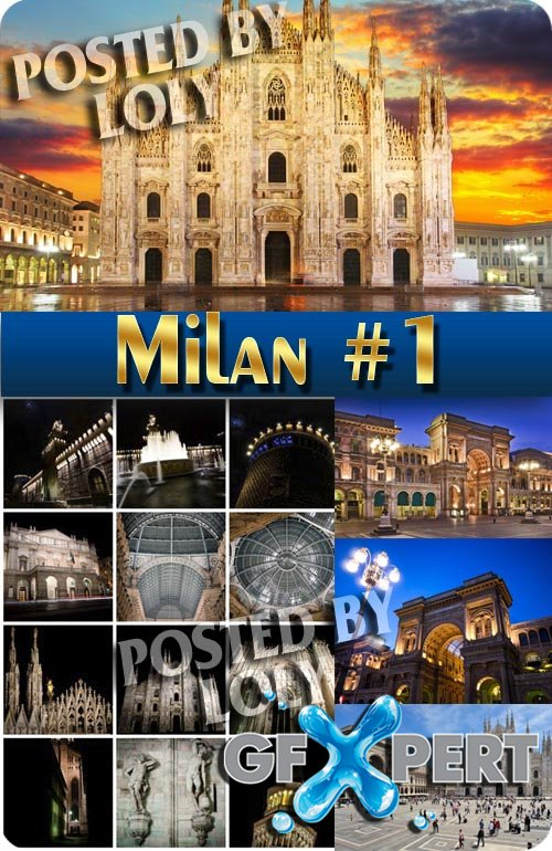 Milan #1 - Stock Photo