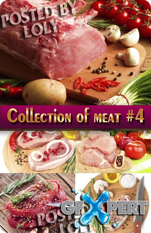 Food. Mega Collection. Meat #4 - Stock Photo