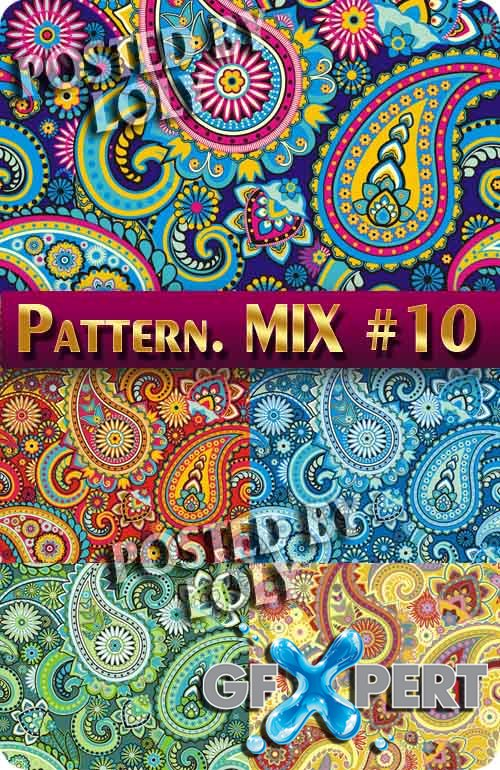 Mix Patterns #10 - Stock Vector