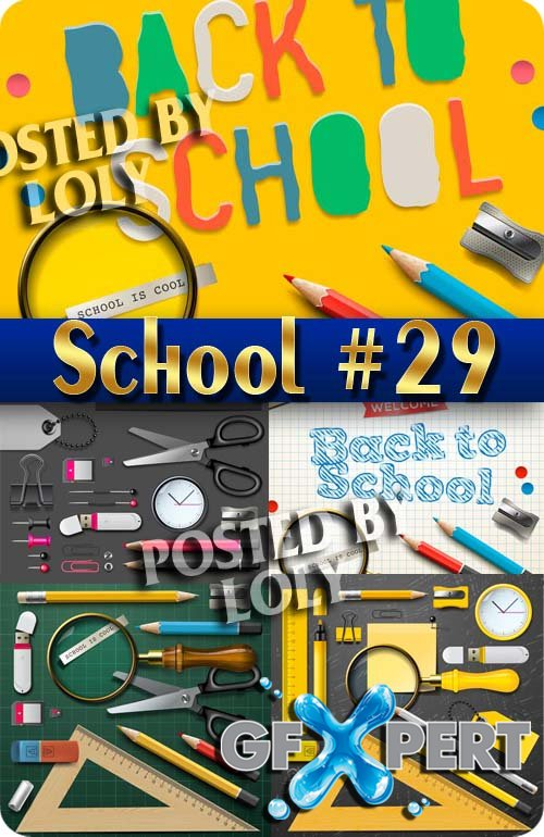 Back to School #29 - Stock Vector