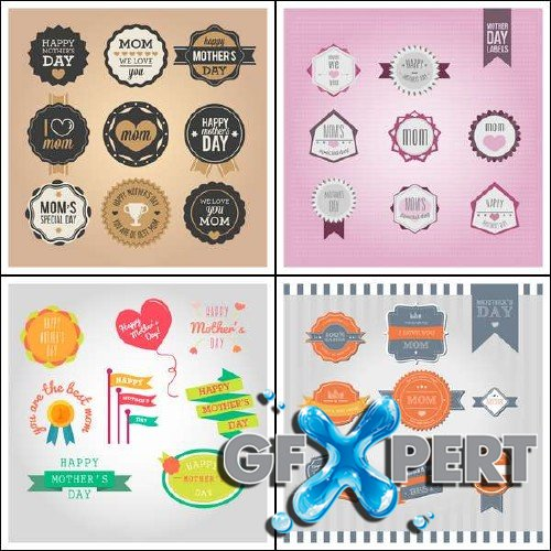 Mother's Day Vector Set