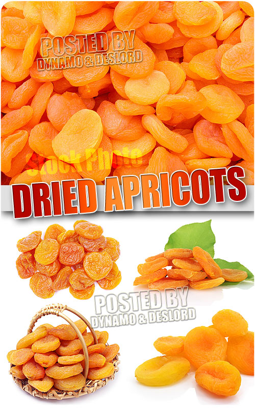 Dried apricots - UHQ Stock Photo