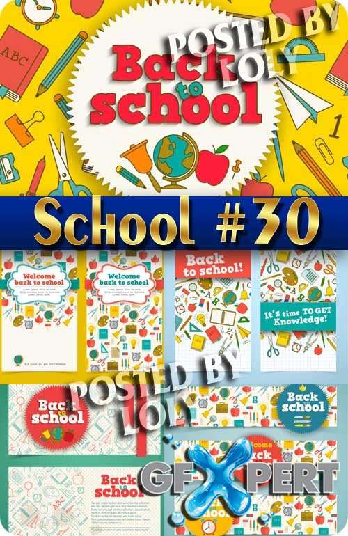 Back to School #30 - Stock Vector