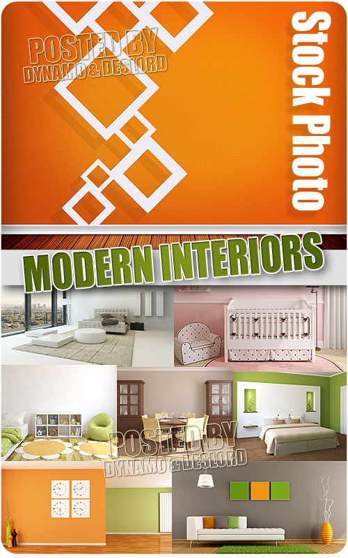 Modern Intriors - UHQ Stock Photo