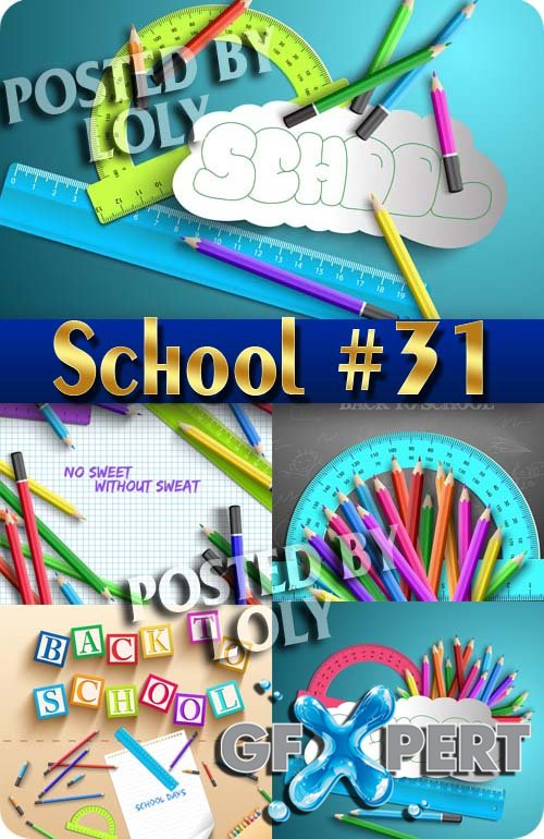 Back to School #31 - Stock Vector