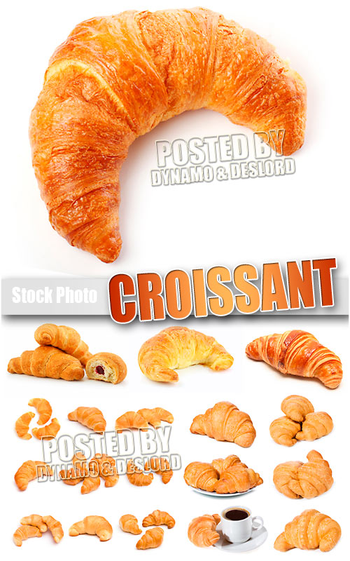 Croissant, UHQ, Stock Photo
