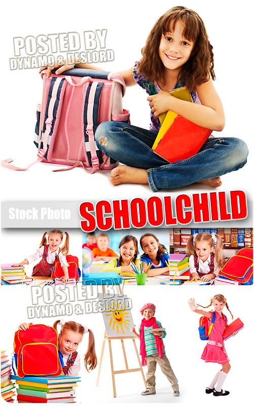 Schoolchild #3 - UHQ Stock Photo