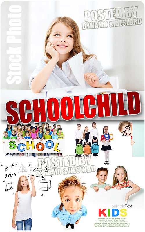 Schoolchild #4 - UHQ Stock Photo