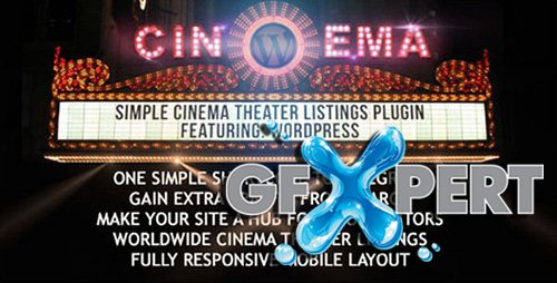 CodeCanyon - Simple Cinema Theatre v0.92 Listings Plugin | 888 KB
