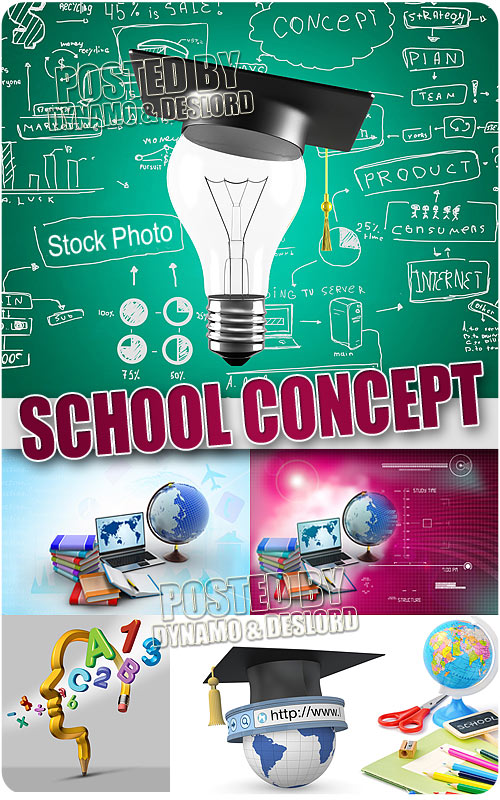 School Concept - UHQ Stock Photo