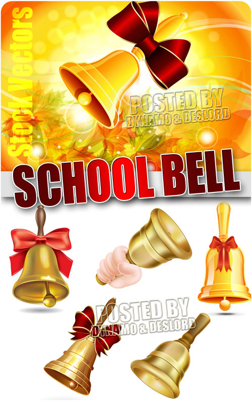School bell - Stock Vectors