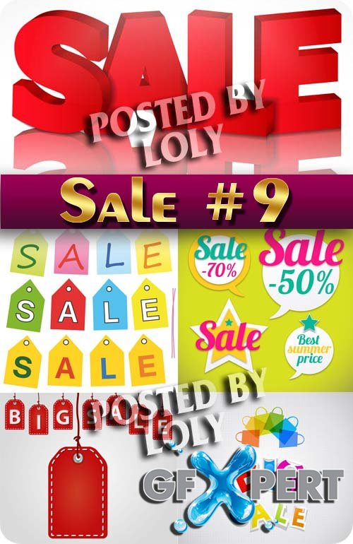 Big SALE #9 - Stock Vector