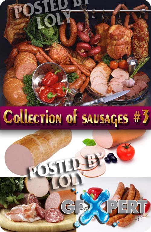 Food. Mega Collection. Sausages #3 - Stock Photo