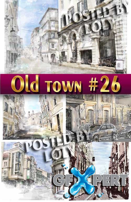 Old Town #26 - Stock Vector