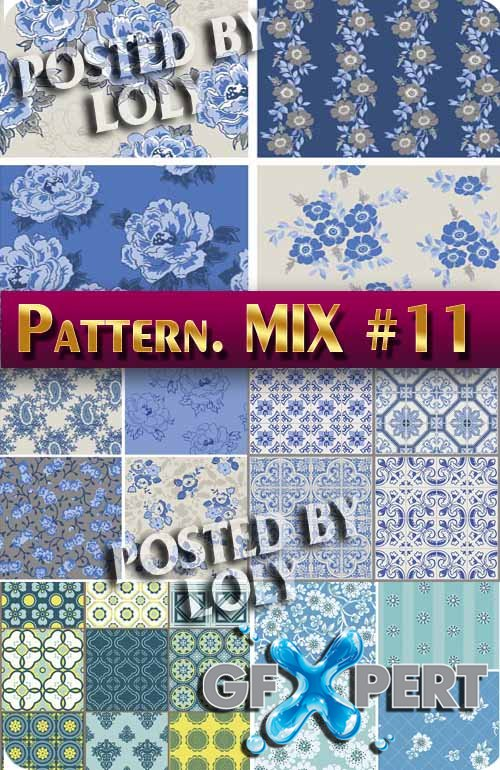Mix Patterns #11 - Stock Vector