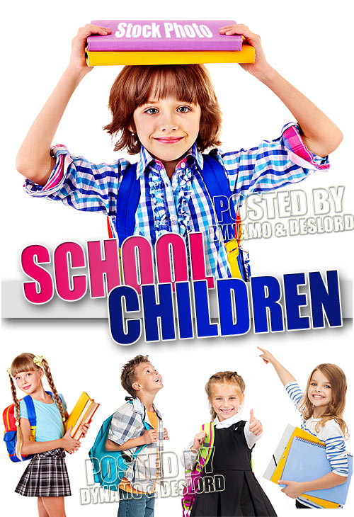 School children #5 - UHQ Stock Photo
