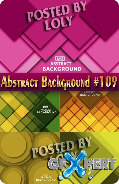 Vector Abstract Backgrounds #109 - Stock Vector