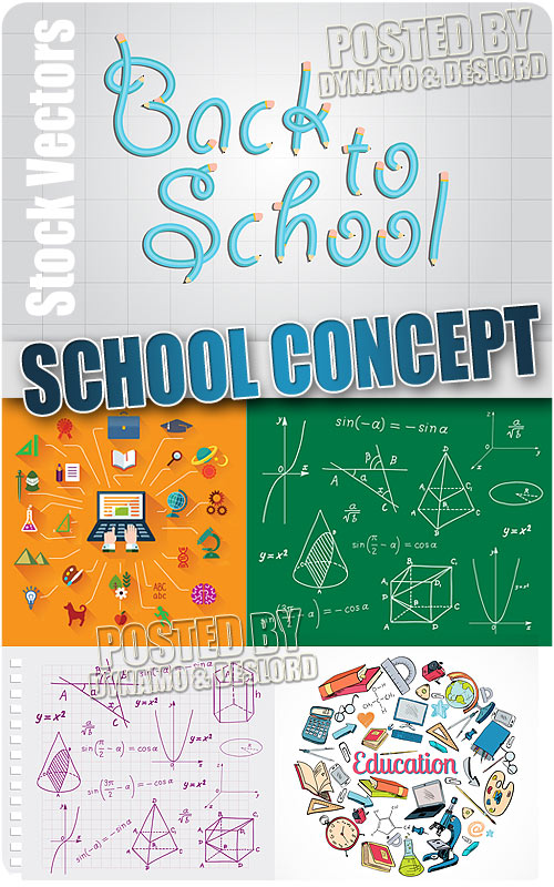 School concepts - Stock Vectors
