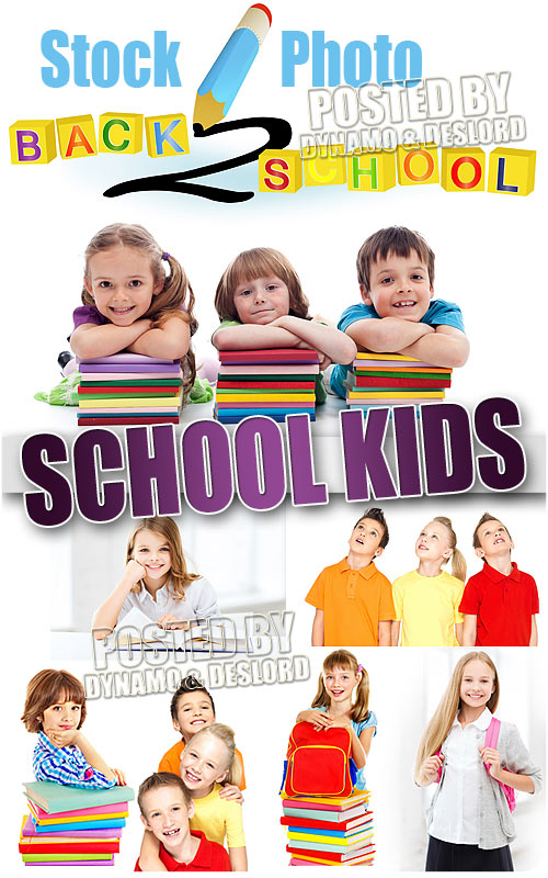 School Kids 6 - UHQ Stock Photo